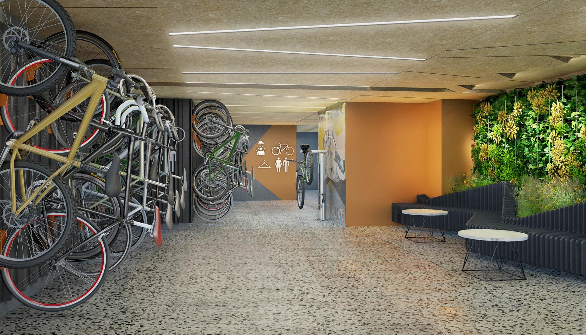bicicletero teslaii